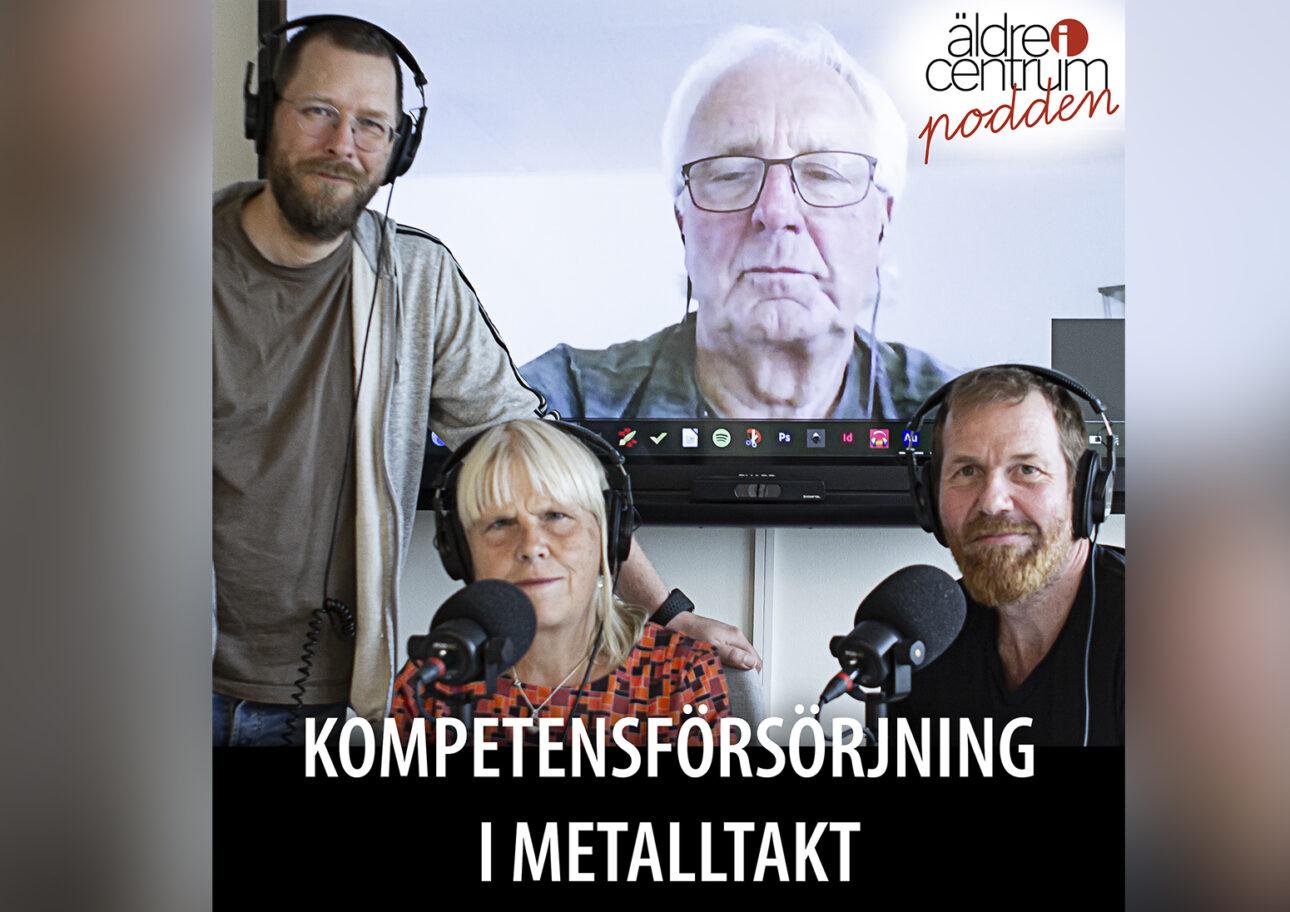 Från vänster uppifrån: Mikael Mildén, Göran Johnsson (skärmen), Ann Jönsson och Jonas Nilsson.
